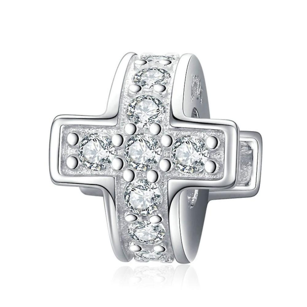 Sterling silver stopper Cross