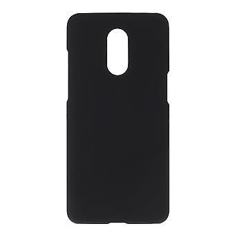 OnePlus 7 ShellPlastic Shell Gumowane - Czarny