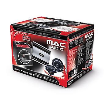Mac аудио MAC Xtreme 4000, спикер, сабвуфер и усилитель, 1 набор новых товаров