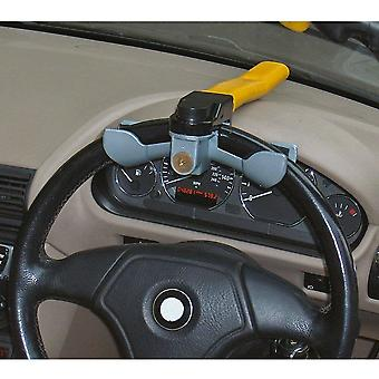 Streetwize Anti-Theft Car/Van Security Rotary Steering Wheel Lock-High Visibility