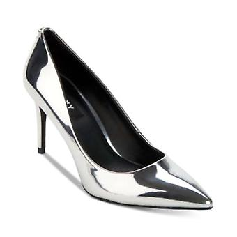 DKNY Womens Letty Pump Leather Pointed Toe Classic Pumps