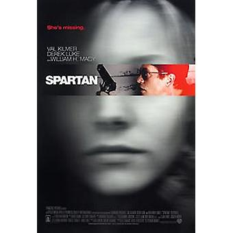 Spartan (Double Sided Regular) Original Cinema Poster