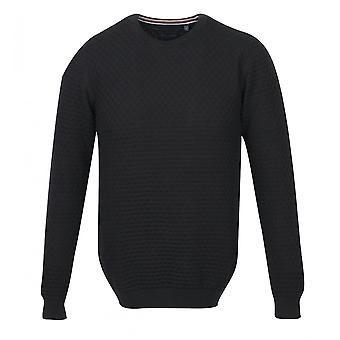 Guide Londen mens zwart patroon jumper