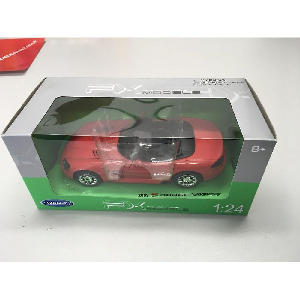Welly Dodge Viper SRT-10 2003 Red  1:24