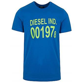 Diesel diesel t-shirt met logo print