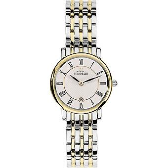 Michel Herbelin 16945-BT01 Women's Parisian Two Tone Wristwatch