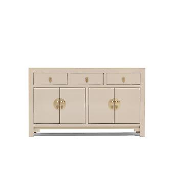 The Nine Schools Qing Oyster Grey Large Sideboard - Baumhaus