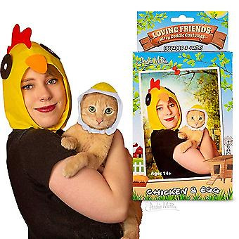 Kitty Cuddle Costumes - Archie McPhee - Chicken & Egg New 12890