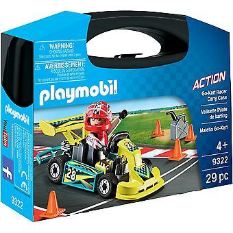 PLAYMOBIL 9322 GoKart Racer Tragetasche