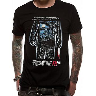 Friday The 13th Unisex Adults They Were Warned Print T-Shirt