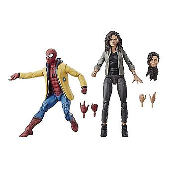 Marvel, Actionfiguren - Spiderman und MJ