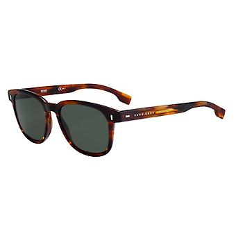 Hugo Boss 0956/S EX4/QT Brown-Horn/Green Sunglasses