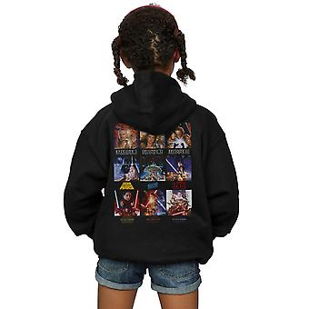 Star Wars Girls Poster Saga Zip Up Hoodie