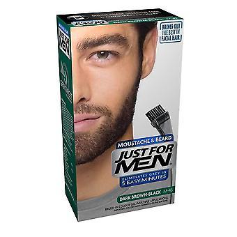 Just For Men 3 X Just For Men Brush In Facial Hair Colour - M45 Dark Brown