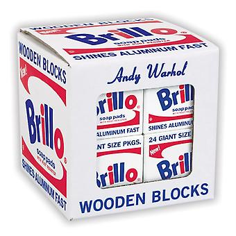 Andy Warhol Brillo Wooden Blocks by By artist Andy Warhol