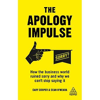Apology Impulse by Cary Cooper