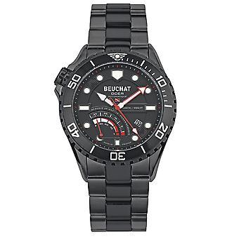 Beuchat Ocea Power Reserve BEU0097-1 watch - black AFN e man