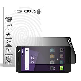 Celicious Privacy 2-Way Landscape Anti-Spy Filter Screen Protector Film Compatible with ZTE Blade V8