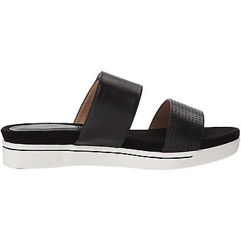 ADRIENNE Vittadini skor kvinnor ' s Calais sandal, svart-liten,