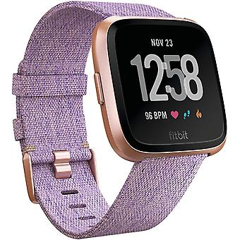 Fitbit Versa Special Edition Health & Fitness Smartwatch with Heart Rate, Music & Swim Tracking - Lavender