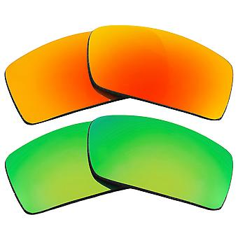 Polarized Replacement Lenses for Oakley Gascan Sunglasses Anti-Scratch Anti-Glare UV400 by SeekOptics