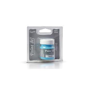 Rainbow Dust Jadalne Paint It Pot Sky Blue 25ml