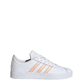 Adidas Kids Vl Court 2.0 Shoes White