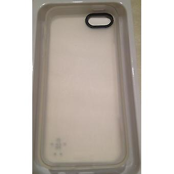 Belkin grip sheer TPU Funda para iPhone 5 / 5s - blanco transparente