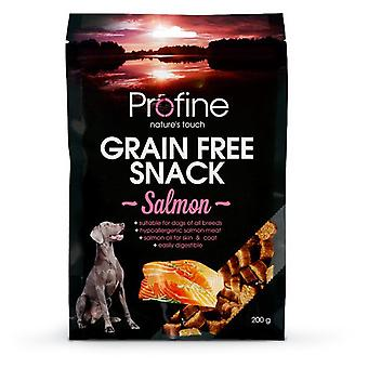 Profine Grain Free Snack Salmon (Dogs , Treats , Chewy and Softer Treats)
