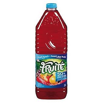 Fruite Fruit Punch Less Sugar-( 2 Lt X 6 Bouteilles )