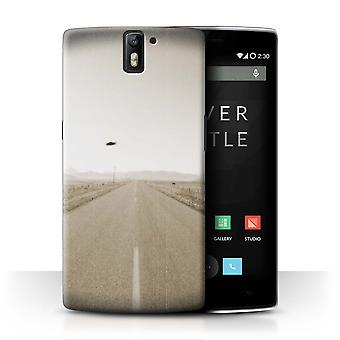 STUFF4 Case/Cover for OnePlus One/Vintage UFO/Extraterrestrial
