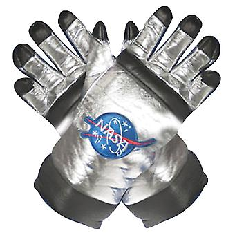 Astonaut Gloves Silver Adult