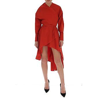 Gentry Portofino D556pag3030 Women's Red Cotton Dress