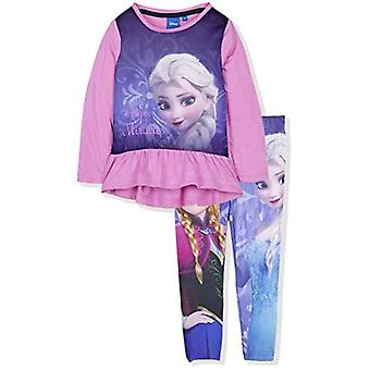 Roupa congelada da Disney define top túnica e leggings