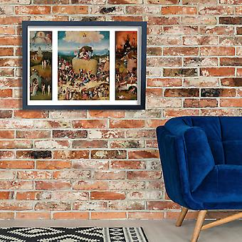 Hieronymus Bosch - The Hay Wain by Hieronymus Bosch Poster Print Giclee