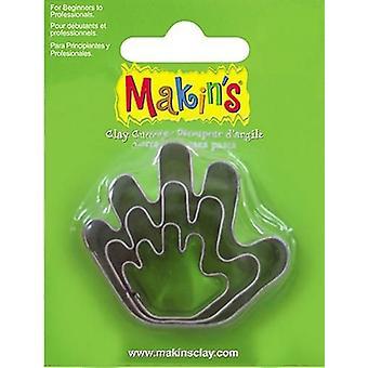 Makin'Clay Cutter hand 2-4 CM