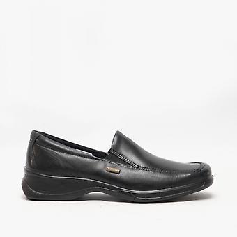 Cotswold Hazleton Ladies Waterproof Leather Shoes Black