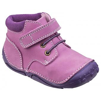 Hush Puppies Lily Girls Casual Boots Pink