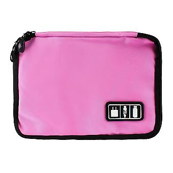Bag, storage of cords, electronics - Pink