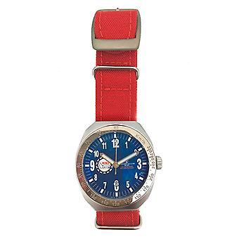 Unisex Watch Montres de Luxe 09MON-ALKZBLU (42 mm) (Ø 42 mm)