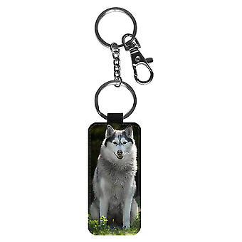 Sibirischer Husky Schlüsselanhänger