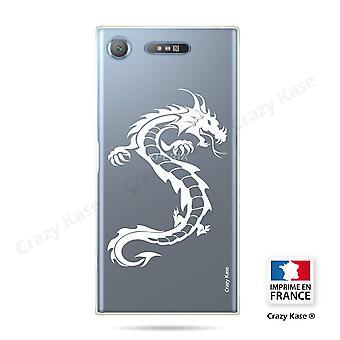 Rumpf für Sony Xperia Xz1 Soft Dragon White