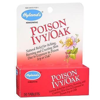 Hyland poison ivy/oak, tablets, 50 ea