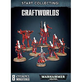 بدء جمع! Craftworlds ، Warhammer 40000 ، ورشة عمل الألعاب