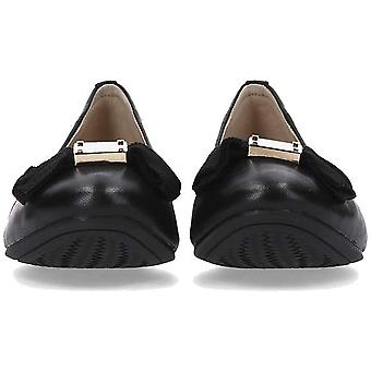 Cole Haan Womens Tali Bow Leather Closed Toe Slide Flats
