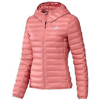 Sportovní bunda Adidas W Varlite HO J Lady Růžová/M