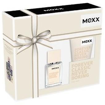 Mexx - Forever Classic Never Boring SET EDT 15 ml + shower gel 50 ml - 15ML