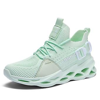 Free Running Sports Trainer Shoes Blade Sneakers For Jogging, Walking - Lace Up