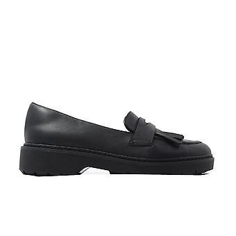 קלוקס ויטקומב דון עור שחור נשים להחליק על הנעליים בטלאה