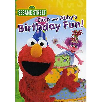 Sesame Street - Elmo & Abby's Birthday Fun [DVD] USA import